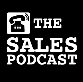 the sales podcast cover